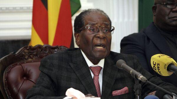 Бывший президент Зимбабве Роберт Мугабе. Архивное фото