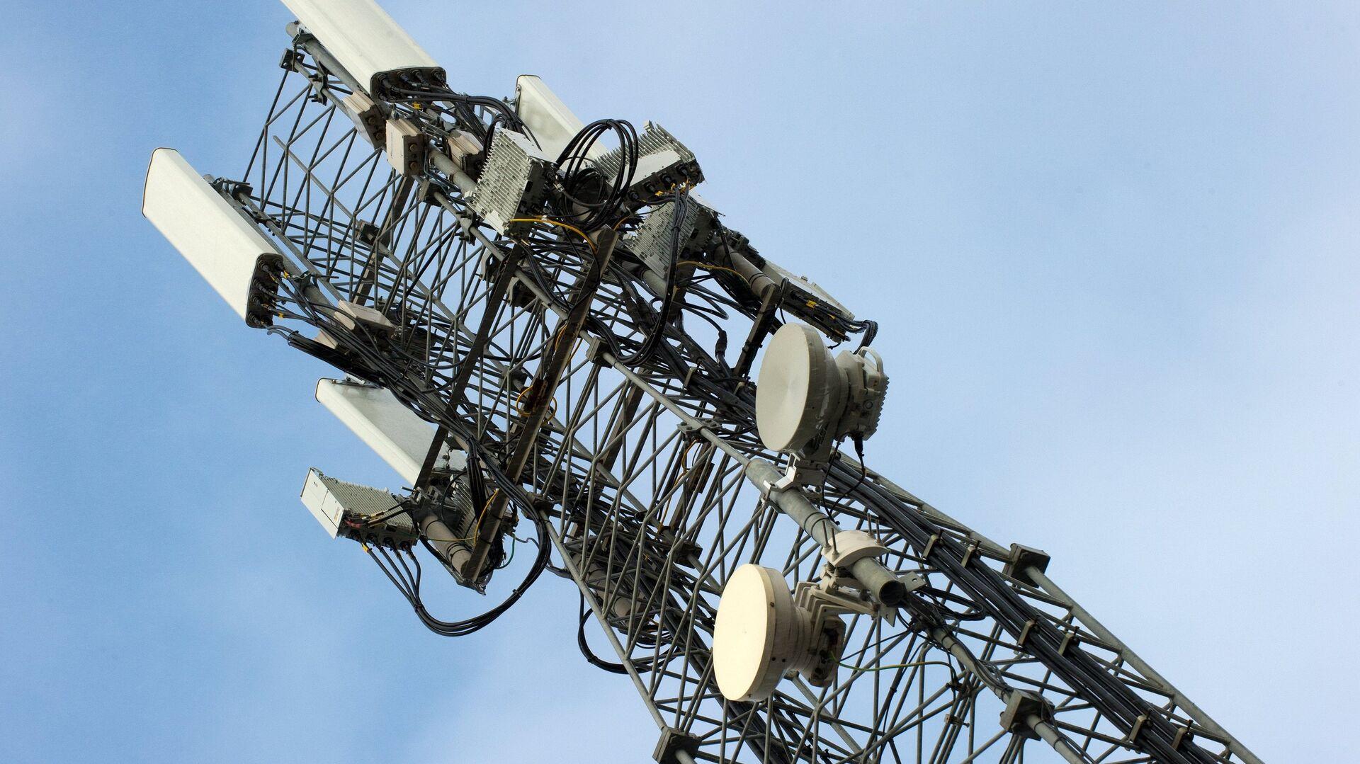 Вышка мобильной связи стандарте LTE в Симферополе - РИА Новости, 1920, 16.02.2021