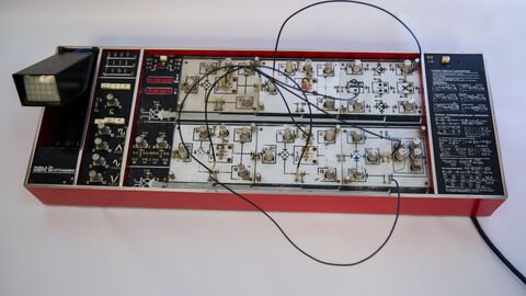 Персональный аналоговый компьютер АВК-6, 1976 год