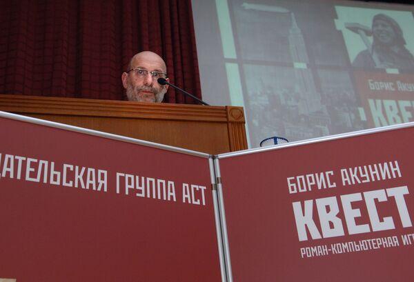Борис Акунин на XXI Московской международной книжной выставке-ярмарке