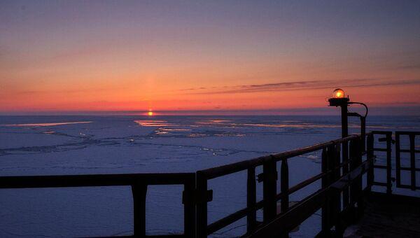 Арктический шельф. Архивное фото