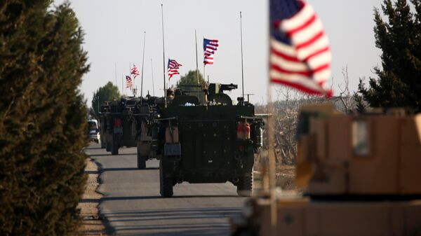 Американская военная техника в Сирии. архивное фото