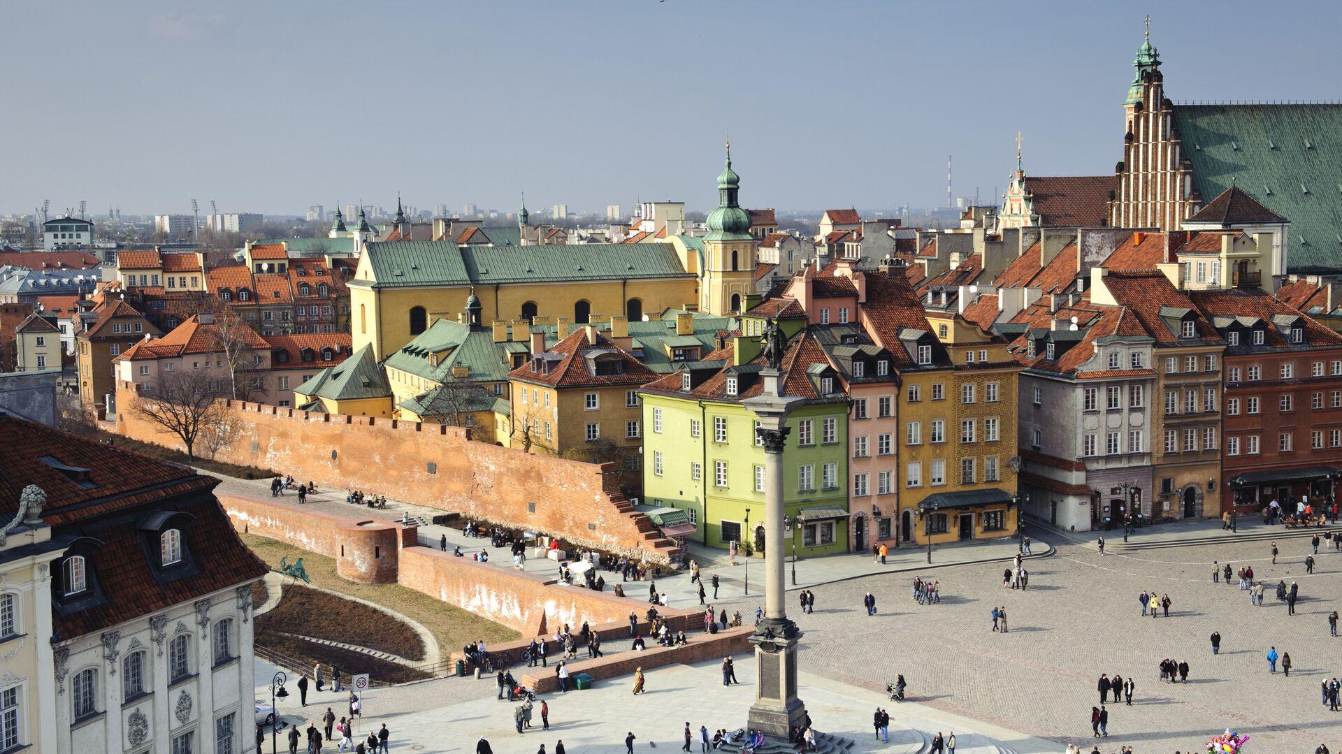 Центр города в Варшаве, Польша - РИА Новости, 1920, 11.06.2021