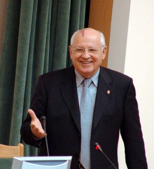 Михаил Горбачев. Архив.