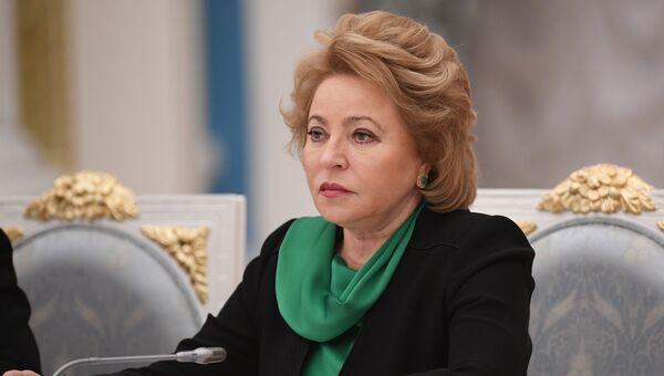 Валентина Матвиенко. Архивное фото