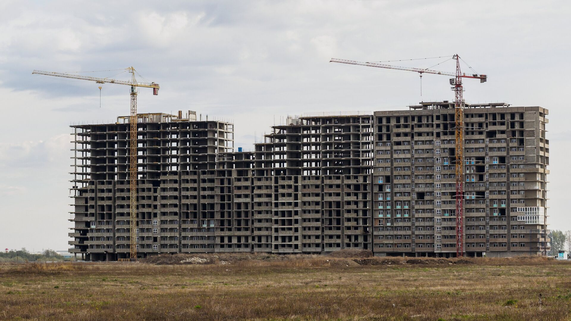 Жилищное строительство - РИА Новости, 1920, 02.12.2020