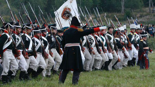Историческая реконструкция Бородинского сражения