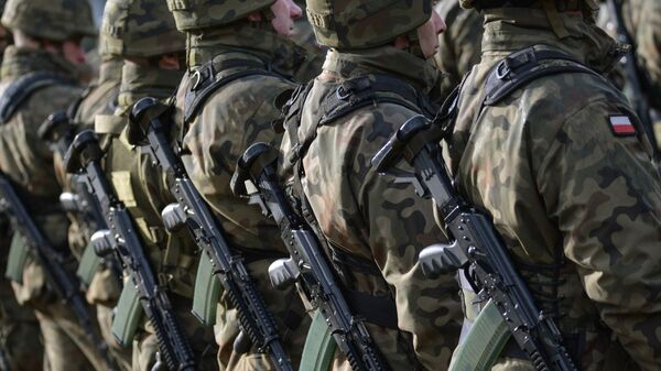 Польские военнослужащие. Архивное фото