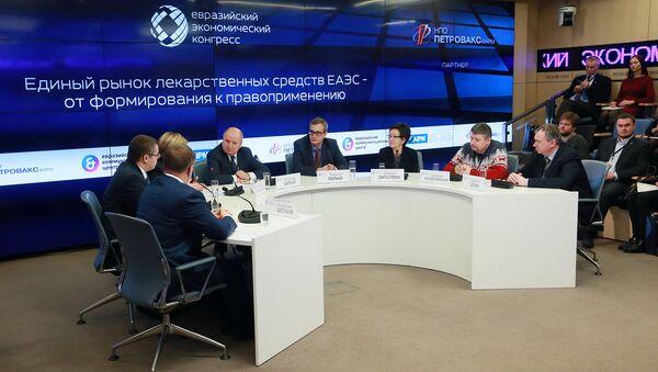 Шипков: Отставание в сроках создания фармрынка ЕАЭС – незначительно