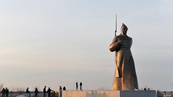Памятник героям гражданской войны на Крепостной горе в Ставрополе