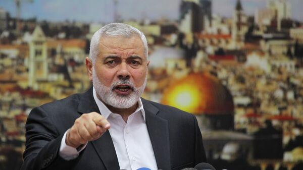 Лидер ХАМАС Исмаил Хания