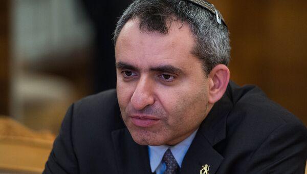 Израильский министр по делам Иерусалима Зеев Элькин. Архивное фото