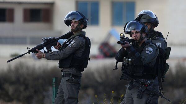 Израильские военнослужащие. Архивное фото