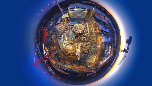 Строительство термоядерного реактора ИТЭР завершено на 50%