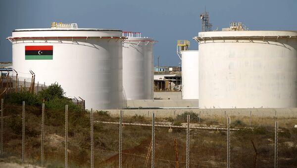 Нефтяное месторождение в Ливии. Архивное фото