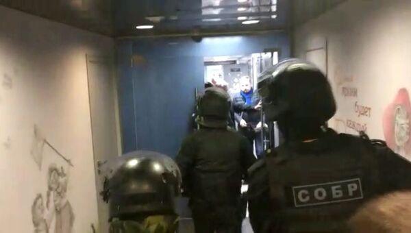 Обыски в холдинге Союз Маринс по делу об афере с землей в Подмосковье