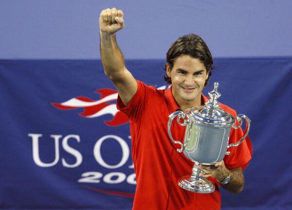 Роджер Федерер выиграл US Open-2008