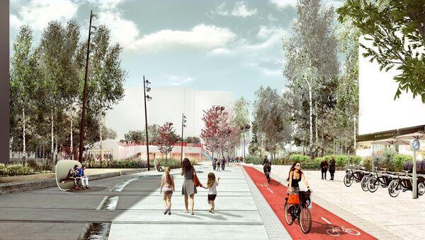 Концепция общественных пространств на территории Новой Москвы