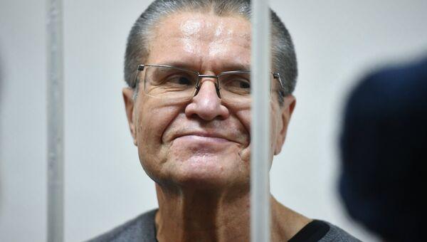 Алексей Улюкаев после оглашения приговора в Замоскворецком суде. Архивное фото