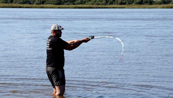 Рыбалка на реке Амур. Архивное фото