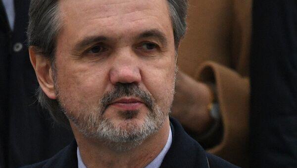 Скульптор, глава Союза художников России Андрей Ковальчук. Архивное фото