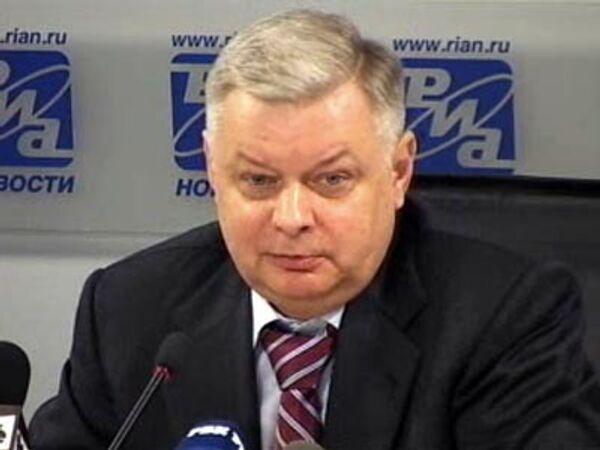Константин Ромодановский - директор Федеральной миграционной службы Российской Федерации, генерал-полковник милиции