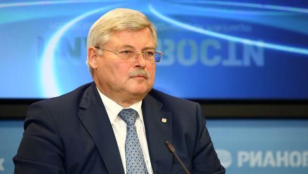 Сергей Жвачкин, губернатор Томской области