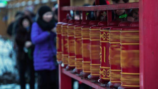 Празднование китайского Нового года в Санкт-Петербурге