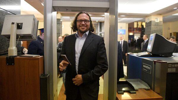 Сергей Полонский после заседания Центральной избирательной комиссии РФ. 25 декабря 2017