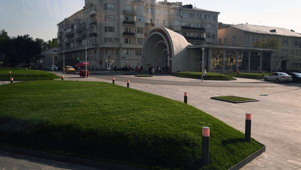 Благоустроенные улицы и площади Москвы в рамках программы Моя Улица