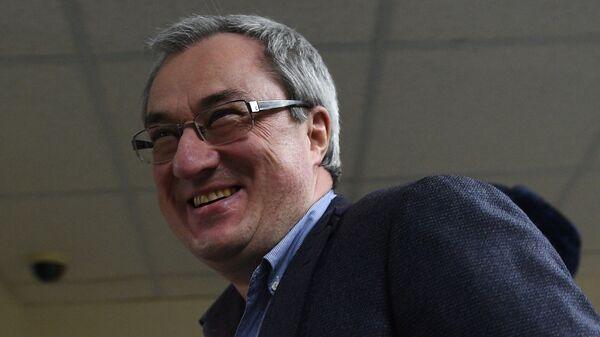 Экс-глава Республики Коми Вячеслав Гайзер в Замоскворецком суде Москвы. 27 декабря 2017