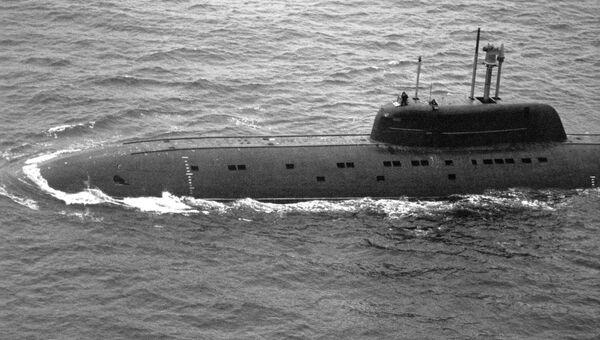 Подводная лодка проекта Барракуда К-239 Карп