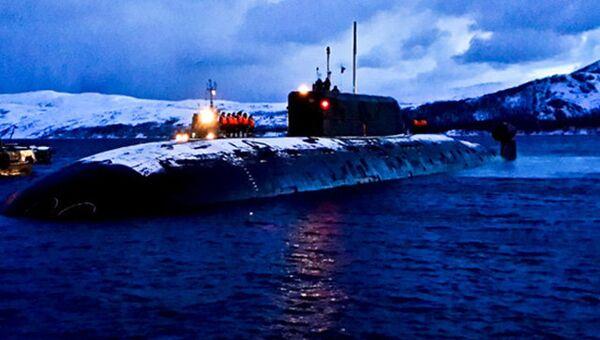 АПЛ Б-534 Нижний Новгород проекта 945А Кондор. Архивное фото