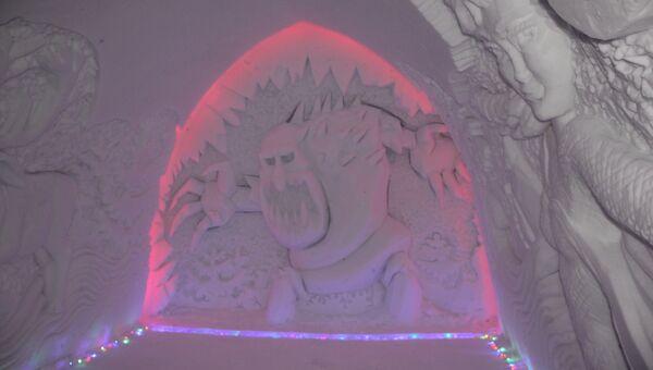 Экскурсионно-туристический центр Снежная деревня в Мурманской области