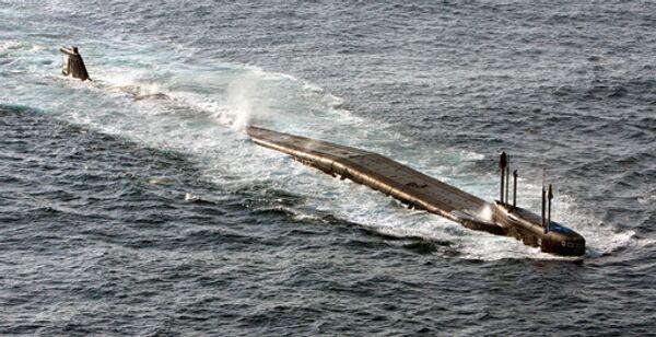 Подводная лодка Тихоокеанского флота РФ