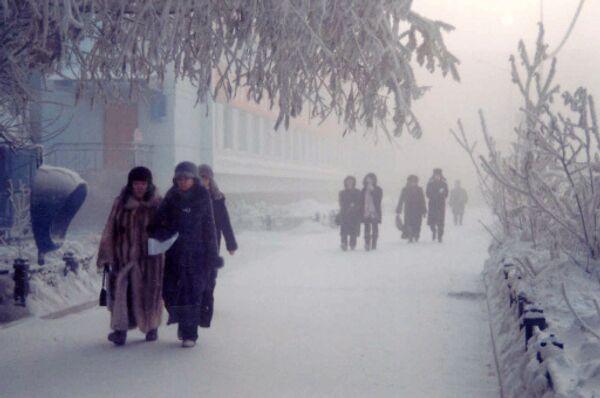 Морозный день