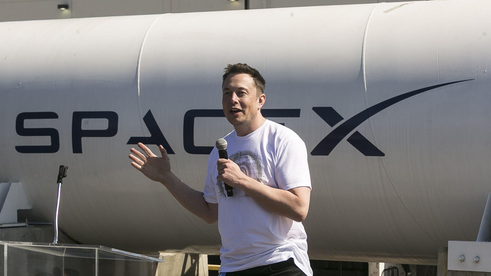 Генеральный директор SpaceX Илон Маск - РИА Новости, 1920, 26.04.2020