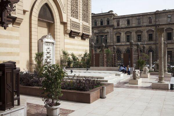 Здание Музея исламского искусства в Каире