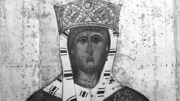 Икона Святая великомученица Варвара Илиопольская