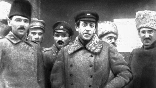 Главный атаман Директории Украинской Народной Республики Симон Петлюра