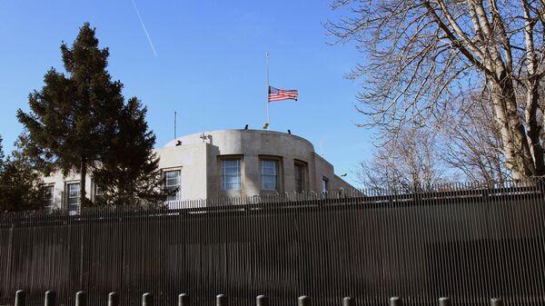 Здание американского посольства в Анкаре