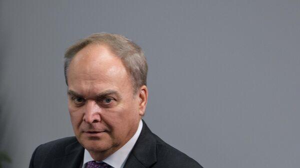 Посол России в США Анатолий Антонов . Архивное фото