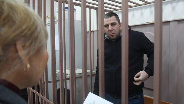 Темирлан Эскерханов в Басманном суде Москвы. Архивное фото