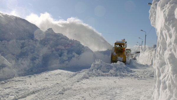 Снегоуборочная техника. Архивное фото