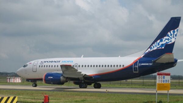 Boeing 737-500 авиакомпании Аэрофлот-Норд