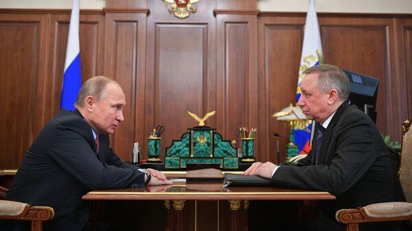 Путин не встречался с Бегловым в Петербурге