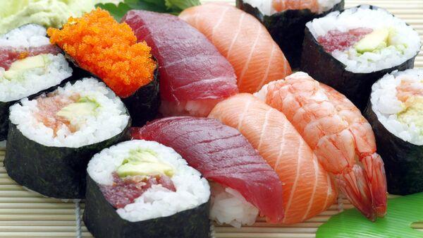 Суши. Архивное фото.