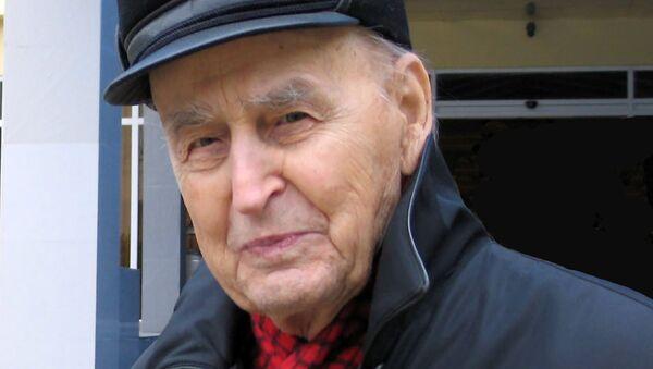 Старейший российский археолог, профессор Василий Любин