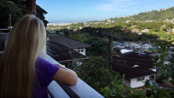 Вид на столицу Гавайев Гонолулу. Архивное фото