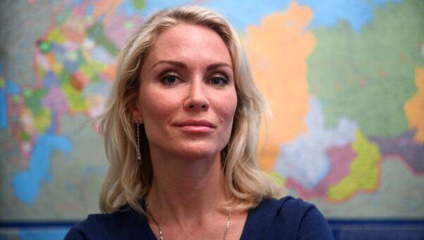 Кандидат на должность президента РФ от Партии добрых дел Екатерина Гордон. Архивное фото